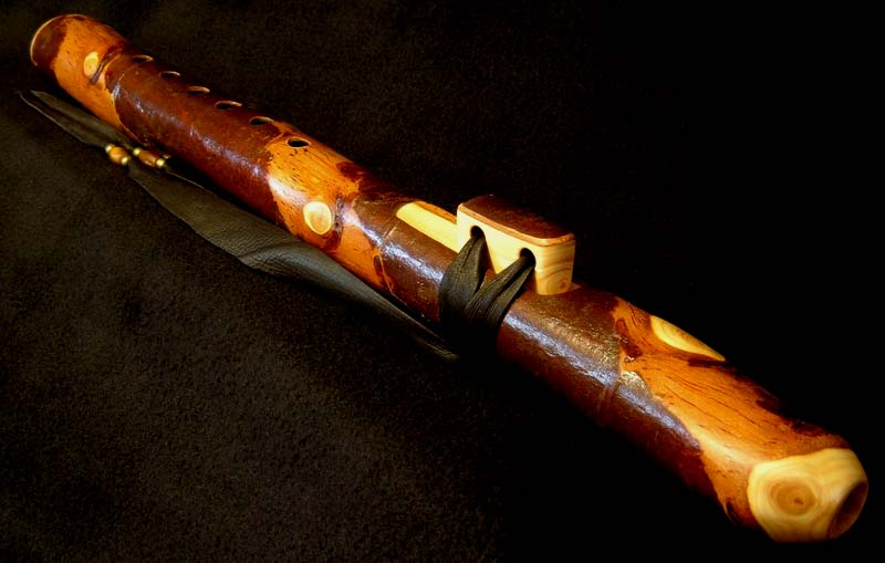 Incense Cedar Branch Flute in G
