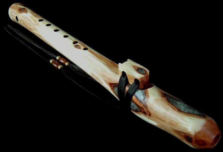 Diamond Willow Branch Flute High C