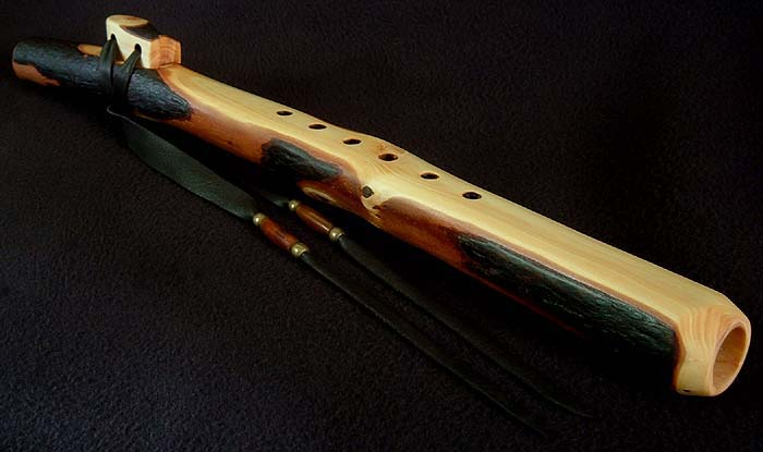 Coast Redwood Branch Flute in A