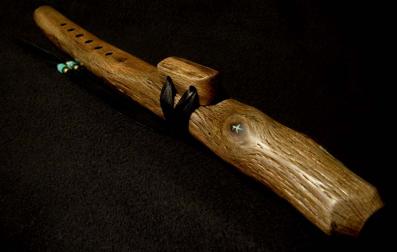 Coast Live Oak Branch Flute in G#