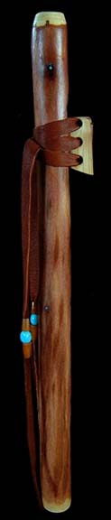 Coast Redwood Branch Flute in B from Dryad Flutes