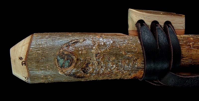 Ash Branch Flute in D# with Serpentine Inlay from Dryad Flutes