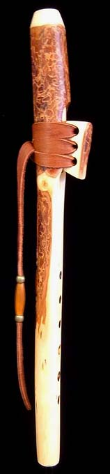Ponderosa Pine Branch Flute in High D from Dryad Branch Flutes