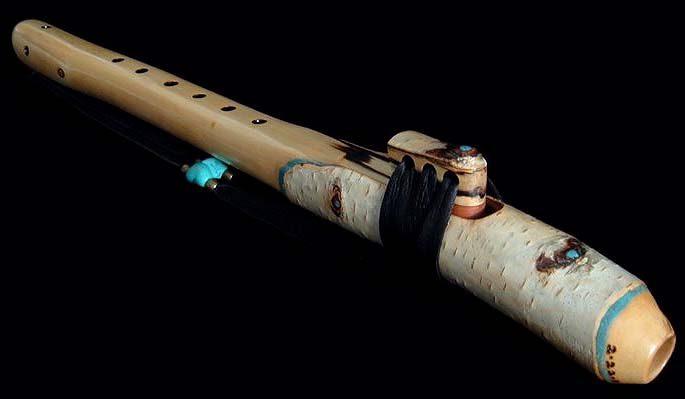 Birch Branch Flute in G From Dryad Flutes