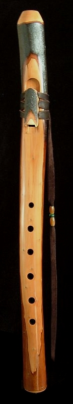 Toyon Branch Flute in F# from Dryad Flutes