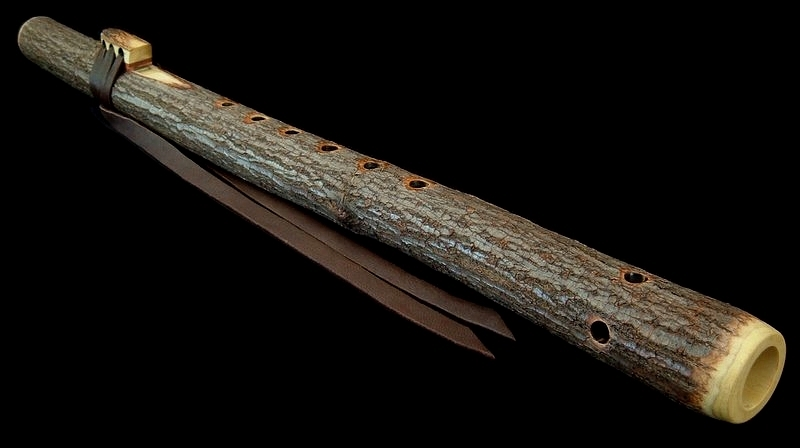 Elderberry Branch Flute in F# from Dryad Flutes
