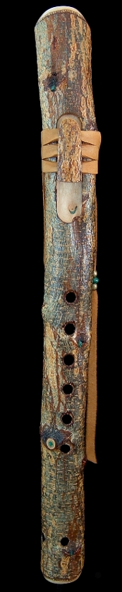 Birch Branch Flute In Am from Dryad Flutes