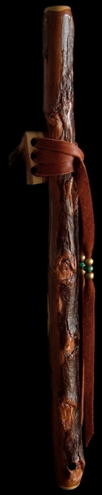 Ironbark Eucalyptus Branch Flute in High D# from Dryad Branch Flutes