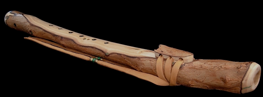 Peppertree Branch Flute in F from Dryad Flutes