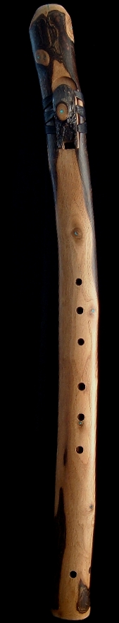 Walnut Branch Flute in Dm from Dryad Flutes