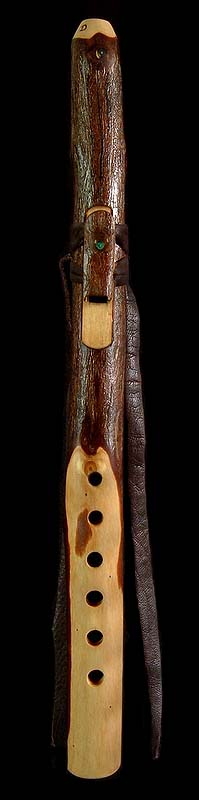 Coast Redwood Branch Flute in high D