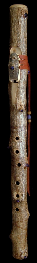 Tobacco Prayer Flute in Fm from Dryad Flutes