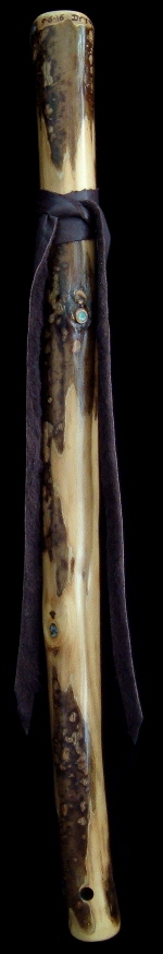 Tobacco Prayer Flute in Am from Dryad Flutes