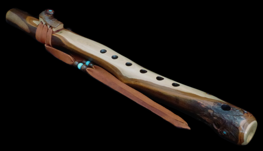 Red Ironbark Eucalyptus Branch Flute High Dm