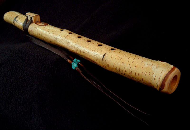 River Birch Branch Flute in F# minor