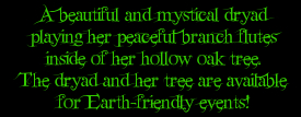 A beautiful and mystical Dryad!