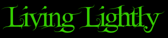 Living Lightly