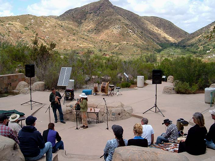 Solar Powered Flute Circle